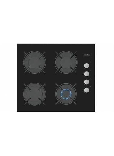 Simfer Simfer 3500 Otomatik Gaz Kesme Emniyetli 60 cm Cam Ankastre Ocak Renkli